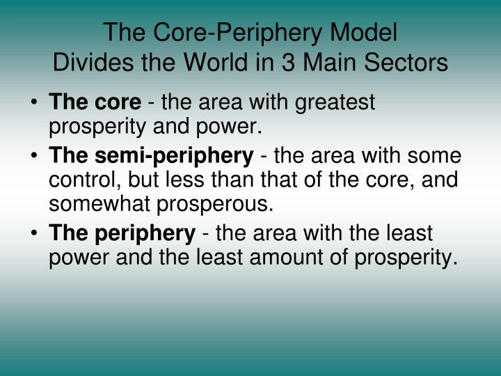The Core-Periphery Model