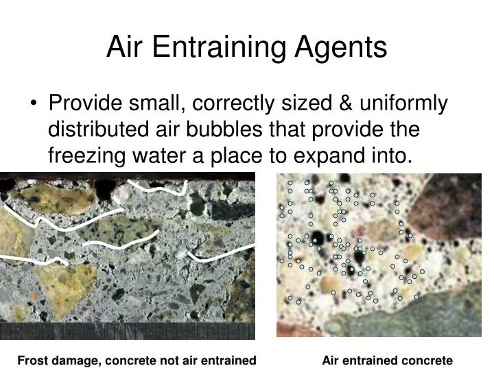 Air Entraining Agents