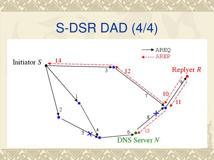 S-DSR DAD (4/4)