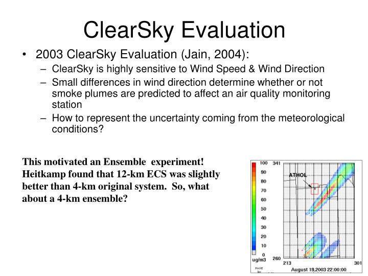 ClearSky Evaluation