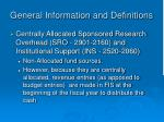 general information and definitions4