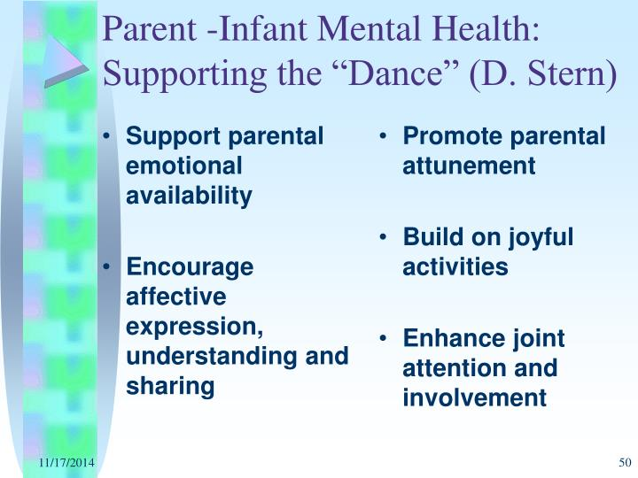 Promote parental attunement