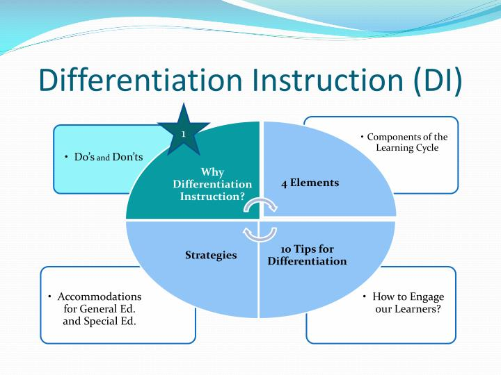 Differentiation Instruction (DI)