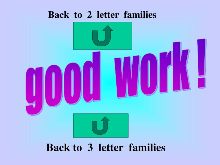 Back  to  2  letter  families