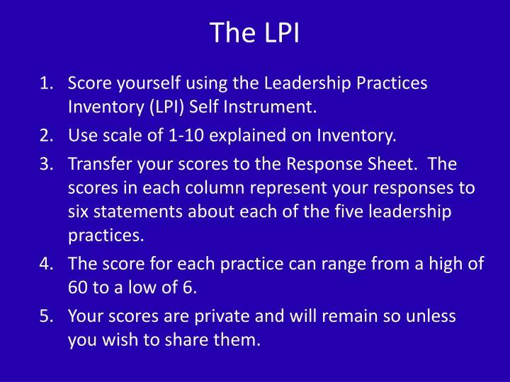 The LPI