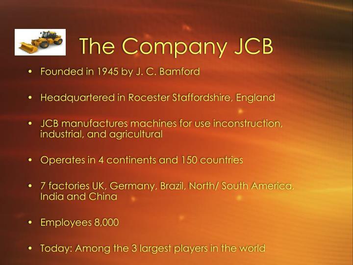 The Company JCB