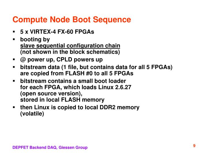 Compute Node Boot Sequence