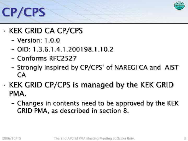 CP/CPS