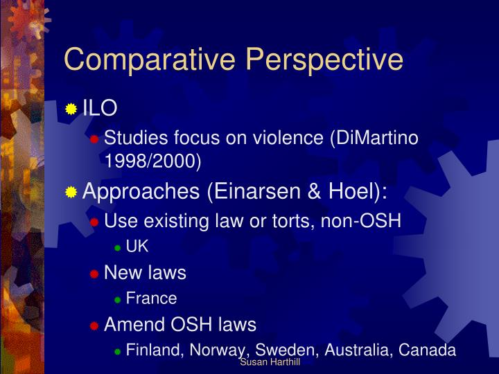 Comparative Perspective