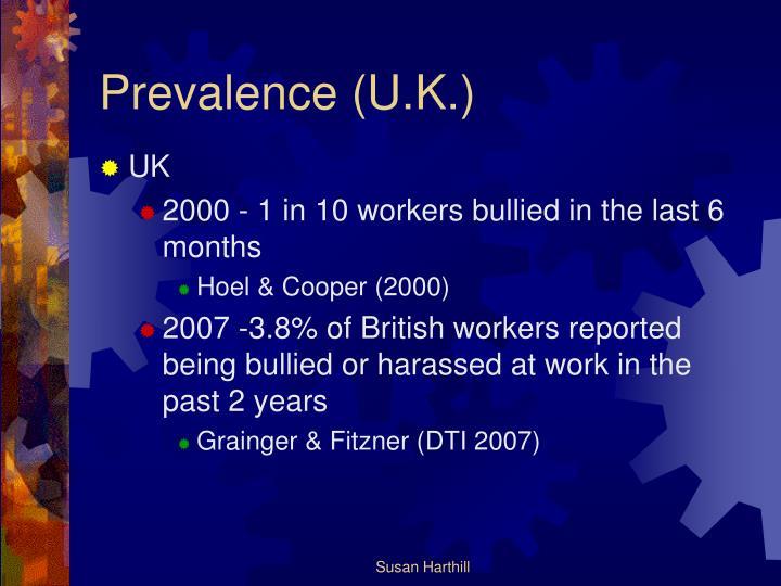 Prevalence (U.K.)