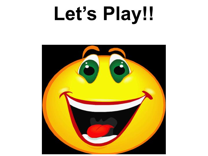 Let's Play!!