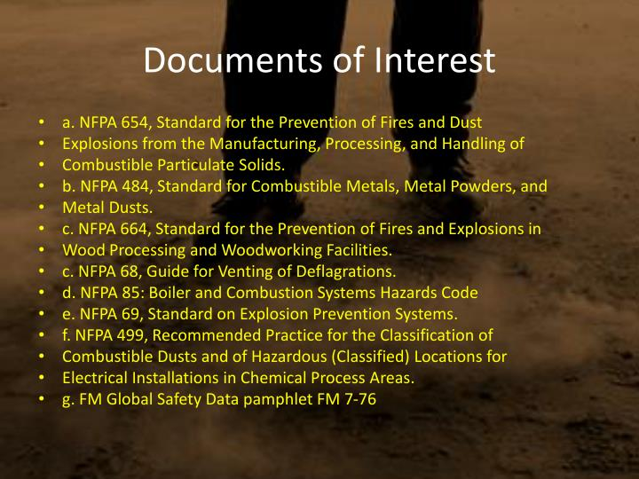 Documents of Interest