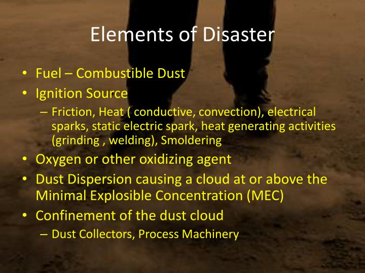 Elements of Disaster