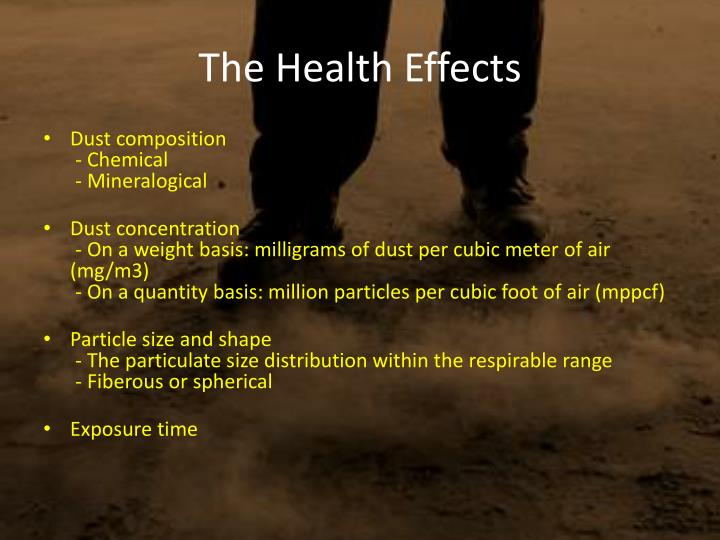 The Health Effects