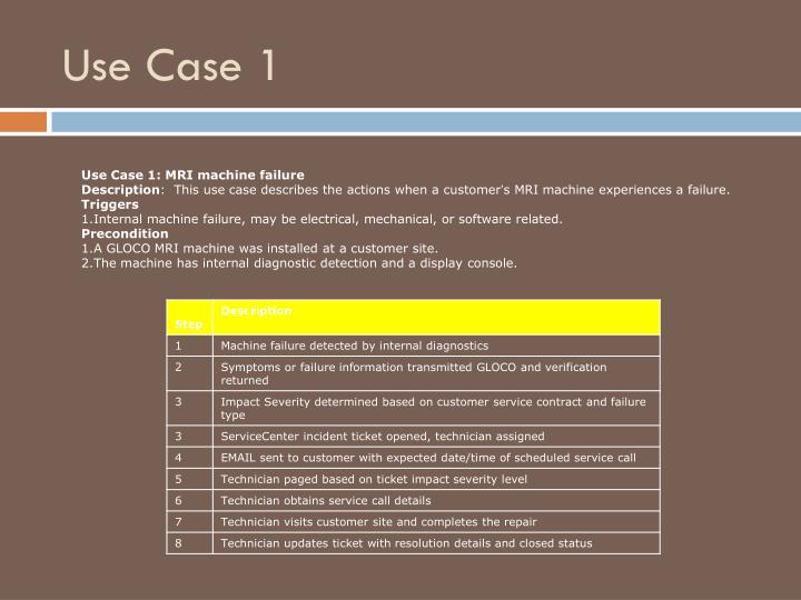 Use Case 1
