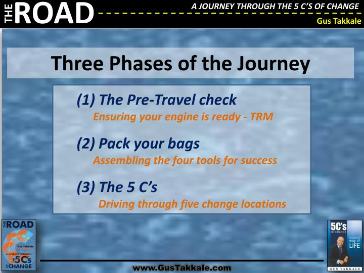 Three Phases of the Journey