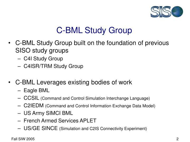 C-BML Study Group