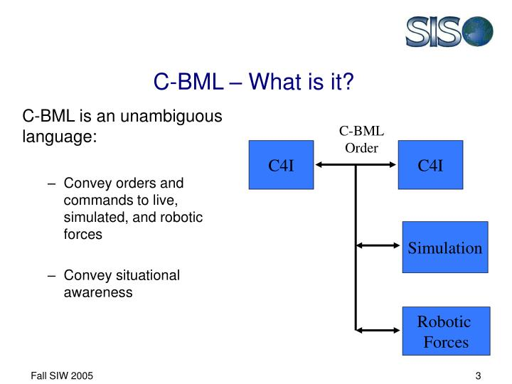 C-BML – What is it?
