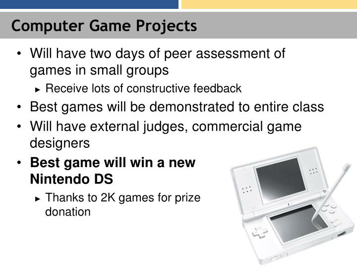 Computer Game Projects