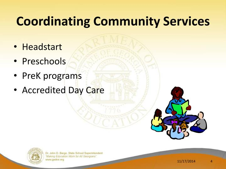 Coordinating Community Services