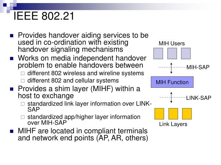 IEEE 802.21