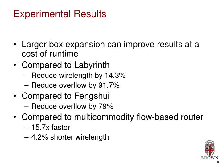 Larger box expansion can improve results at a cost of runtime