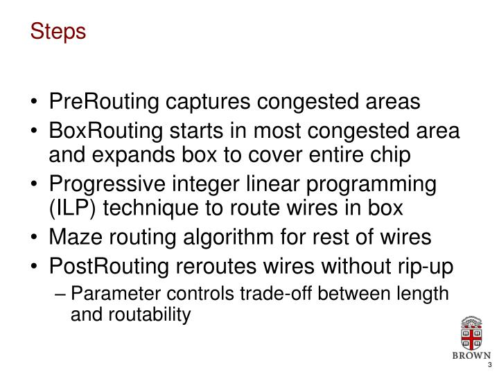 PreRouting captures congested areas