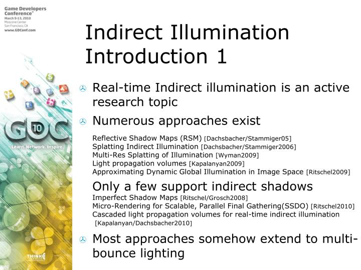 Indirect Illumination Introduction 1