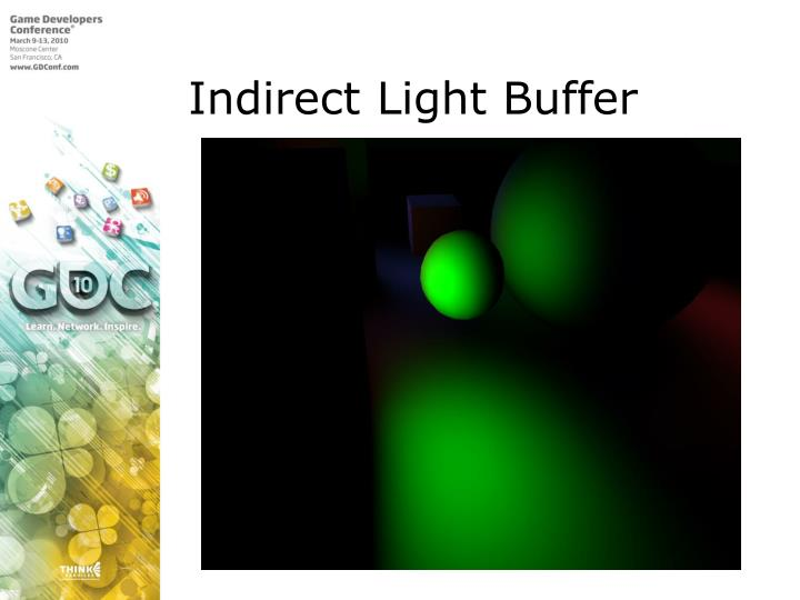 Indirect Light Buffer