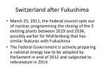 switzerland after fukushima