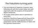 the fukushima turning point