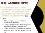 the i search paper4