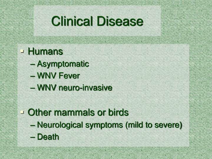 Clinical Disease