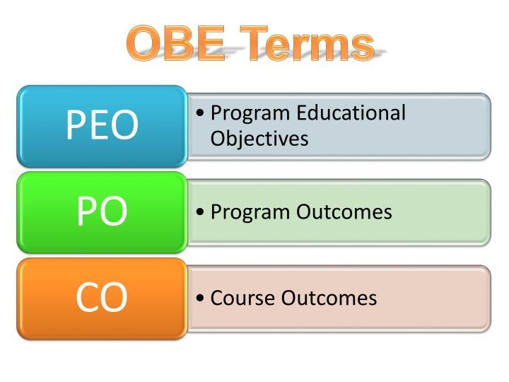 OBE Terms