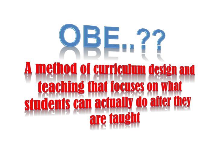 OBE..??