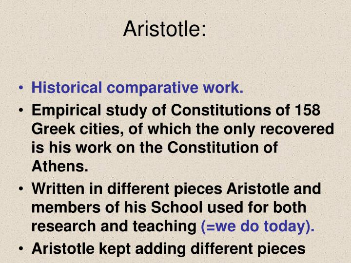 Aristotle: