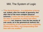 mill the system of logic