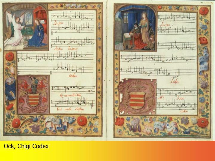 Ock, Chigi Codex