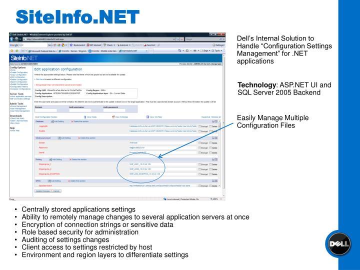 SiteInfo.NET