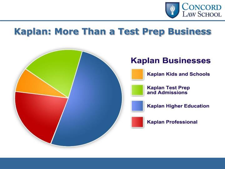 Kaplan: More Than a Test Prep Business