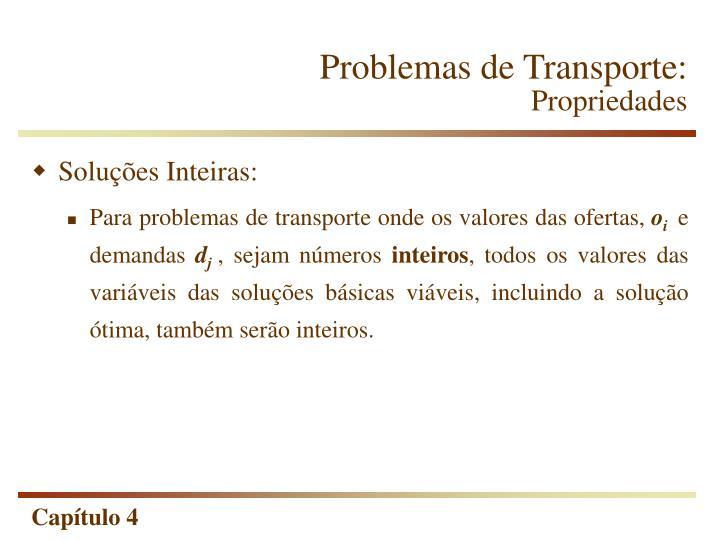 Problemas de Transporte:
