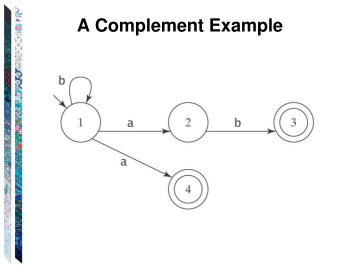 A Complement Example