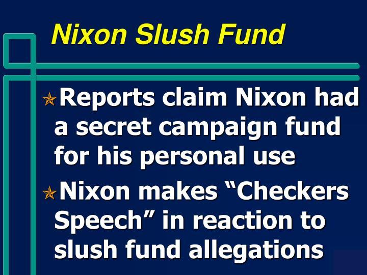 Nixon Slush Fund