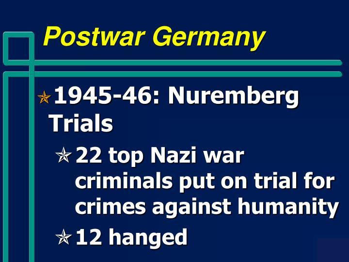 Postwar Germany