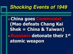 shocking events of 1949