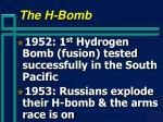 the h bomb