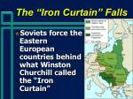 the iron curtain falls
