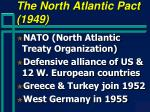 the north atlantic pact 1949