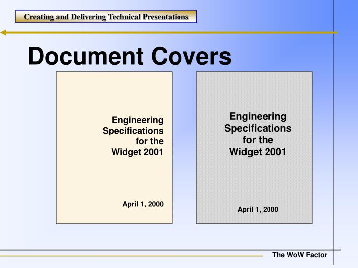 Document Covers