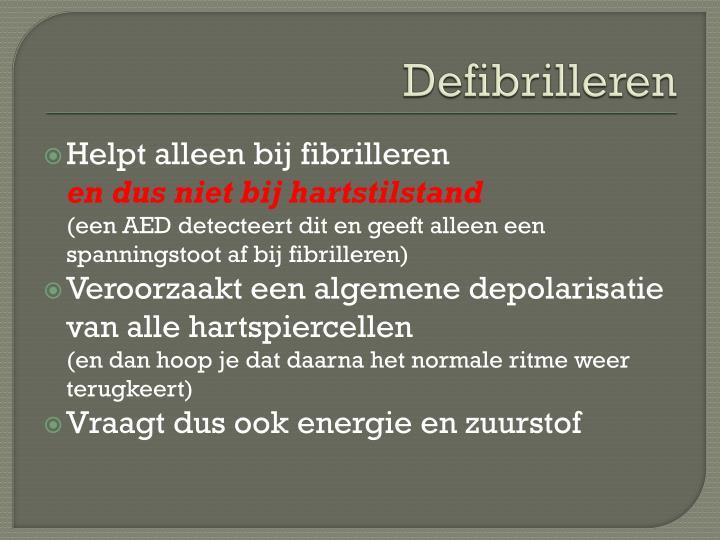 Defibrilleren